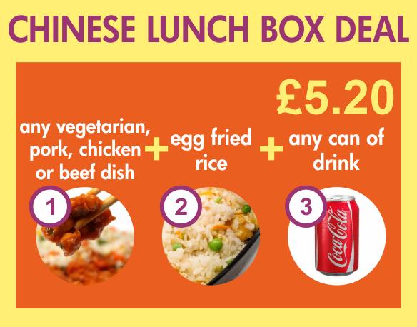 Taylor's fish bar tonbridge chinese lunch box deal